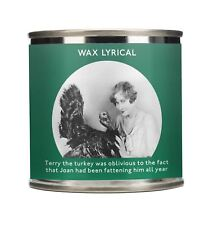 Wax Lyrical Festive Comedy Design Wax Filled Tin Terry The Turkey Candle
