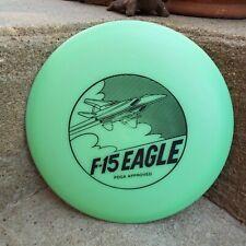 Rare Vintage New Oop Lightning Discs Green F-15 Eagle Disc Golf Disc 174 grams