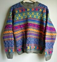Northern Isles Cable Hand Knitted Sweater Women's Size Medium