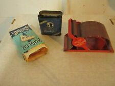 Vintage Bugler Tobacco Roller Brown & Williamson, Empty Tin & Empty Package