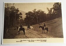 "NED KELLY Old ""The Kelly Gang"" From Original Picture, Post Card. Bushrangers"