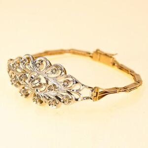 14k Rose Gold Bracelet with Diamonds for Women UK BHS
