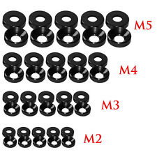 Alloy Aluminum M2 M2.5 M3 M4 M5 M6 Anodized Countersunk Head Bolt Washers Gasket