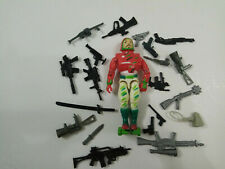 "3.75"" Gi Joe  Hat Trick Lemonde 1992 Lanard With 5pcs Accessories Rare Figure"
