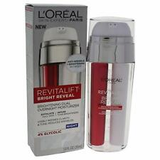 L'Oreal Revitalift Bright Reveal Brightening Dual Overnight Moisturizer 1.0 Fl.