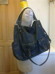KENNETH COLE Black Extra Large Shopper Tote Office Work Shoulder Bag  £200