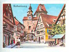 IMAGE CARD 60s Rothenburg ob der Tauber Rothenbourg Bavaria Germany Le Plönlein