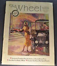 1932 Studebaker Wheel Brochure President Commander Dictator Nice Original 32