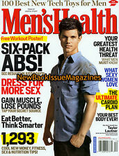 Men's Health 12/09,Taylor Lautner,Tanith Belbin,Beatrice Rosen,Charlie Hunnam,NR