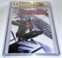 Miles Morales: Spider-Man #1 CGC SS Signature Signed CLAYTON CRAIN Variant 9.8