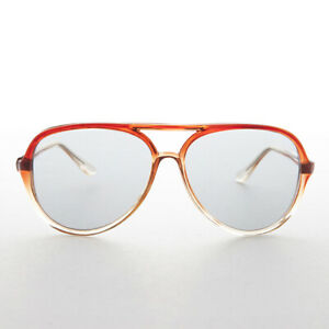 Pilot Sunglass Glass Corning Photochromic Lens Brown Red Clear - Big Bird
