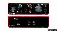 Focusrite SCARLETT Solo 3rd Gen Pro Audio Interface (Studio Quality)