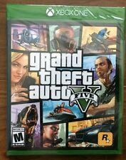 Grand Theft Auto V Gta 5 Xbox One Factory Sealed