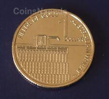 One Dollar 2012 Australian Wheat Fields of Gold Money $1 Coin UNC in 2x2 holder