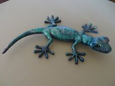 Ugabee'S Handpainted Gecko Lizard One Of Kind Uv Paint In Or Outdoor Decor