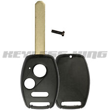 New Replacement Keyless Remote Shell Case Fix Key Fob Uncut Blade Cover - Slot