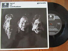 "GENESIS RARE 7"" LAND OF CONFUSION  ROCK"