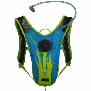 SOURCE Spinner NC Kids Hydration Pack 1.5L Youth Medium Size (Blue/Green)