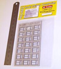 Proses Accessories W-008 - Laser Cut Card Windows 9.5 x 15mm - New.