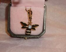New Juicy Couture Queen Bee Charm For Bracelet, Necklace,Handbag Keychain