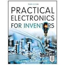 Practical Electronics for Inventors by Simon Monk and Paul Scherz (2013, Paperb…
