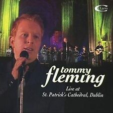 FREE US SHIP. on ANY 2 CDs! ~Used,VeryGood CD Tommy Fleming: Live at St Patrick'