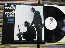 AL COHN & ZOOT SIMS  BODY AND SOUL 1988 MUSE RECORDS JAKI BYARD GEORGE DUVIVIER