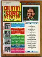 Country Roundup Magazine February 1969 Willie Nelson Sonny James   MBX59