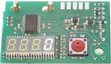 """Counter 0,3"""" white Zähler 77 weiß Studer Revox PR99 mit Nullunterdrückung 7,6 mm"""