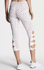 Victorias Secret VSX Sport Knockout CAPRI PANTS Large RADIATING AZTEC -NWT