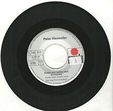 """Peter Alexander, Komm und bedien dich, neutral/VG, 7"""" Single,1263"""