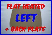 VAUXHALL FRONTERA 1998-2004  DOOR MIRROR GLASS FLAT BACK PLATE HEATED  LEFT H/S