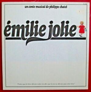 """PHILIPPE CHATEL - DOUBLE LP """"ÉMILIE JOLIE"""" - DISQUES COMME NEUFS"""