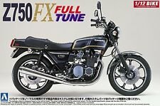 Aoshima Naked Bike No.18 1/12 scale 42168 Kawasaki Z750FX Full Tune from Japan