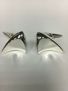 Georg Jensen Modern Design Sterling Silver Cufflinks #88