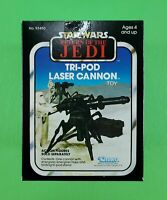 VINTAGE STAR WARS TRI-POD LASER CANNON (ROTJ) MINT IN BOX! NEW OLD STOCK! WOW!