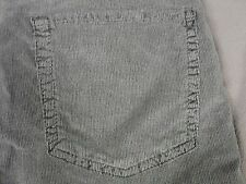 SEVEN 7 FOR ALL MANKIND WOMENS THE SKINNY GRAY CORDUROY JEAN PANTS SIZE 28 NEW
