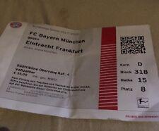 Sammlerticket FC Bayern München - Eintracht Frankfurt