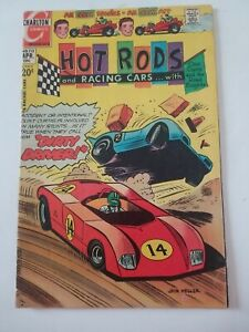 HOT RODS and Racing Cars #113 1972 Dirty Driver Bronze Age Charlton Comic