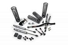 "JKS Jspec Jeep Wrangler 4DR JK 3.5"" Suspension System w/ Fox Resi Shocks 07-16"