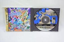 ROCKMAN X3 Item Ref/0624 Megaman Sega Saturn Capcom Import Japan Game ss