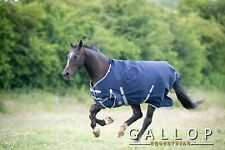 Gallop TROJAN 300gsm Heavyweight Horse Pony Std Neck Turnout Rug 5'6'' LAST TWO