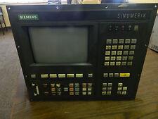 Siemens Sinumerik 810 M CRT MDI Display Unit, 6FC3551-1AC-Z, Used, WARRANTY