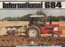 "International ""684"" Tractor Brochure Leaflet"
