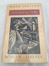Mary Shelley - FRANKENSTEIN - Modern Library 1st Edition - Hardback 1984