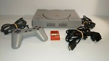 Playstation 1 console SCPH-5552 PAL + accessories PS1 1345