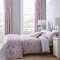 Catherine Lansfield Canterbury Heather Duvet Cover Set and Accessories