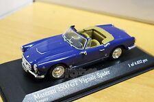 MINICHAMPS 400123230 Maserati 3500 GT Vignale Spider 1961 Dark Blue 1/43 #NEW
