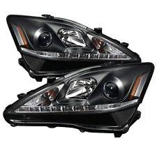 Spyder Auto 5080059 Projector Headlights (Black) Fits 06-10 Lexus IS 250/350