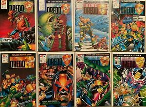 Law of dredd comic lot From:#5-32 11 different 6.0 FN (1989-92)